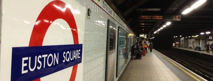 Euston Square London Underground Station is one of London1.