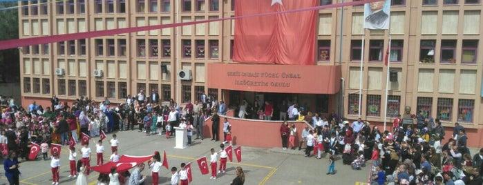 Sehit Onbasi Yucel Unsal Ortaokulu is one of Lugares favoritos de Esen.