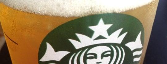 Starbucks is one of Locais curtidos por DJ Lizzie.