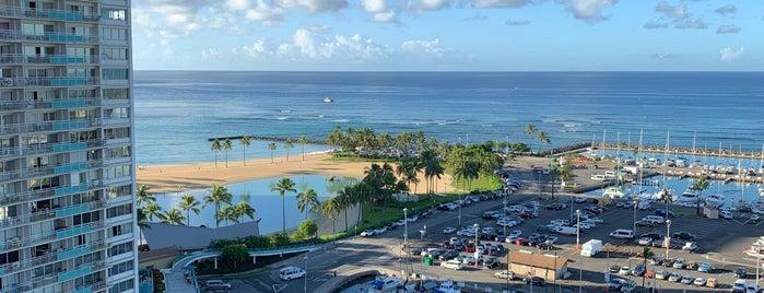 The Modern Honolulu is one of Waikiki.