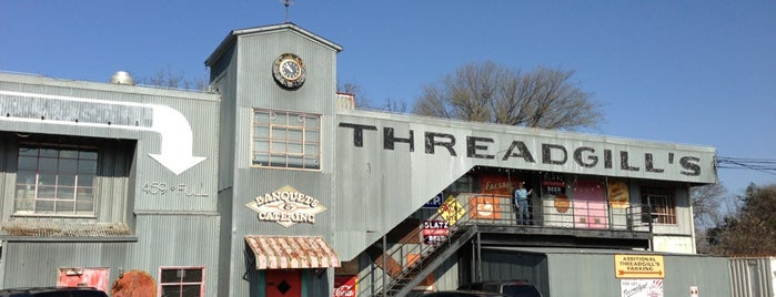 Threadgill's is one of Favorites.