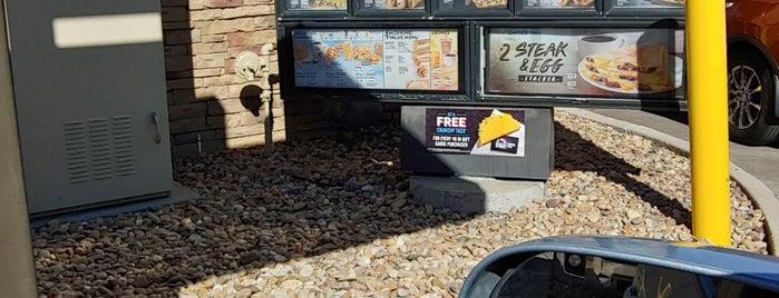 Taco Bell is one of Matt : понравившиеся места.