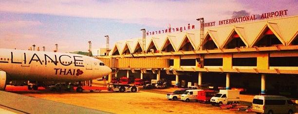 Phuket International Airport (HKT) is one of Part 1~International Airports....