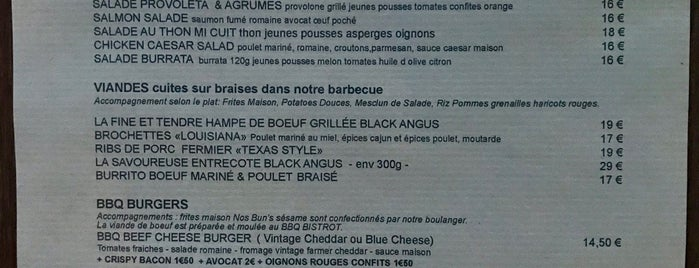 BBQ Bistrot is one of Ouvert Les LUNDIS.