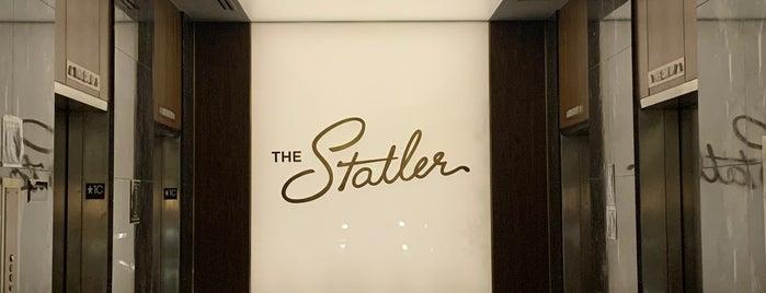 The Statler, Curio Collection by Hilton is one of สถานที่ที่บันทึกไว้ของ Diane.
