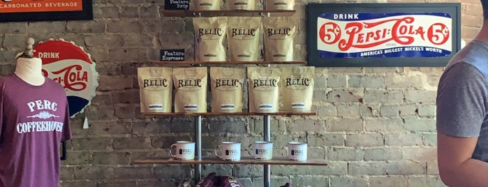 The Perc Coffeehouse is one of Coffee coffee coffee.
