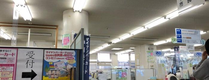 守山市役所 is one of Lugares favoritos de Shigeo.