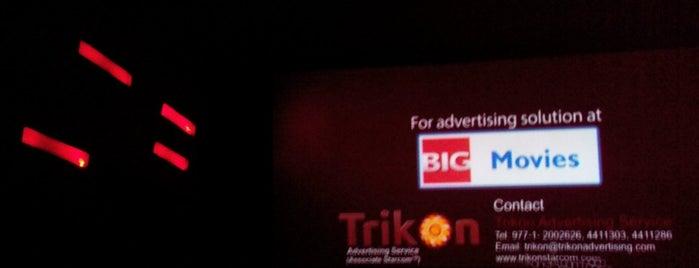Big Movies is one of Orte, die Manish gefallen.