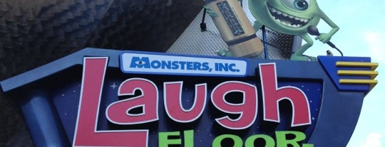 Monsters, Inc. Laugh Floor is one of Walt Disney World.
