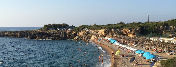Stomio beach is one of Lieux sauvegardés par Rania.