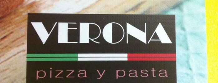 Pizzeria Verona is one of Pizzerias Italiana comida.