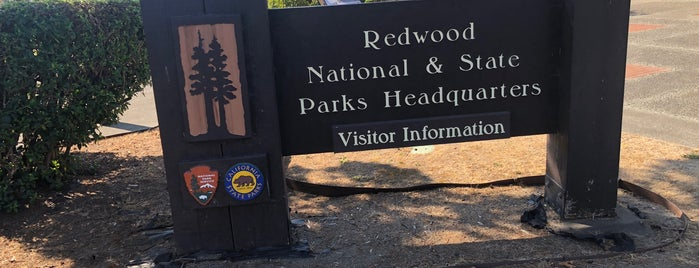 Redwoods National Park Information Center is one of Been There, Done That.