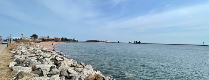 Grand Marais is one of MN north woods: stuff to see and places to ea.