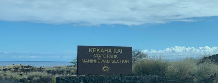 Kekaha Kai State Park is one of Orte, die Maggie gefallen.