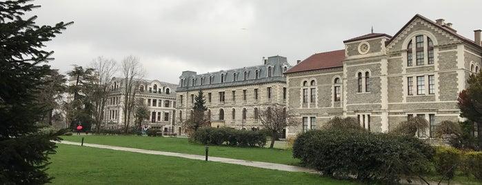 Boğaziçi Üniversitesi Güney Kampüsü is one of Barış : понравившиеся места.
