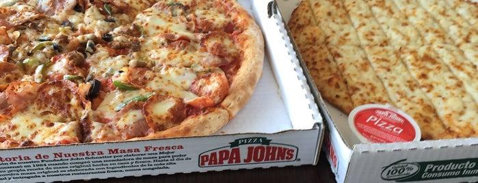 Papa John's is one of Orte, die Agustin gefallen.
