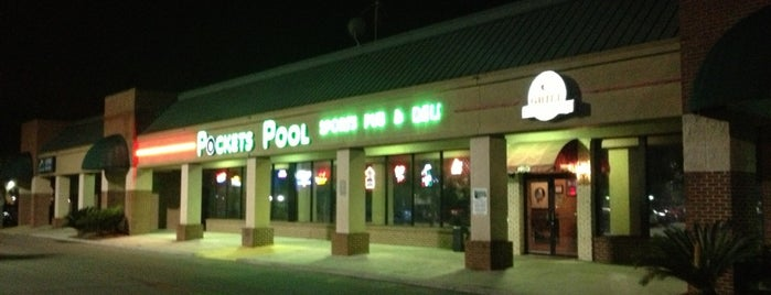 Pocket's Pool & Sports Pub is one of My FAV Hot Spots.