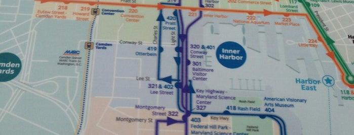 Charm City Circulator - Purple Route on