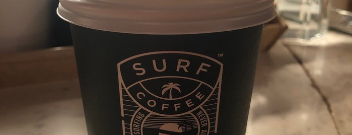 Surf Coffee x Ruby is one of Vladimir 님이 저장한 장소.