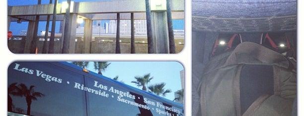 Megabus L.A. Union Station is one of LA.