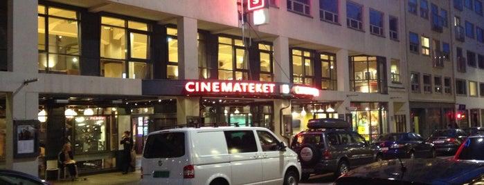 Cinemateket is one of mody.