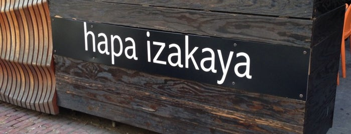 Hapa Izakaya is one of Locais curtidos por Amanda.