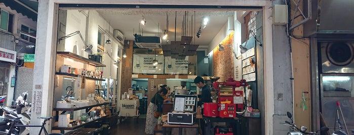 Blooom Coffee House is one of Macau.