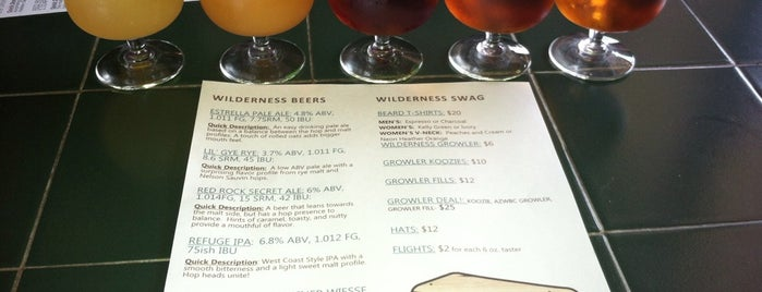 Arizona Wilderness Brewing Co. is one of Locais salvos de David.