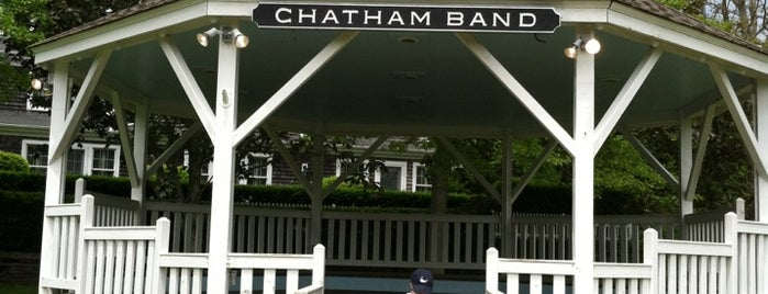 Chatham Bandstand is one of Guide to the Best Spots in Chatham, Cape Cod.