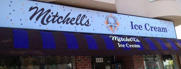Mitchell's Ice Cream is one of Tempat yang Disimpan squeasel.