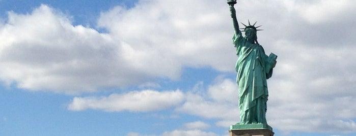 Statue de la Liberté is one of Marvel Comics NYC Landmarks.