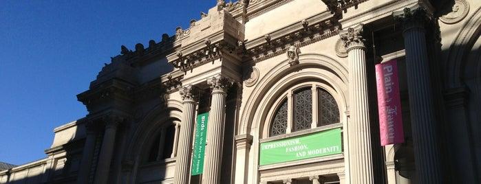 The Metropolitan Museum of Art is one of Marvel Comics NYC Landmarks.
