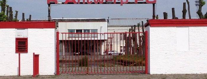 Royal Antwerp Football Club is one of Lieux qui ont plu à Wim.