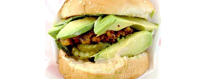 The Oinkster is one of 11 Best Veggie Burgers in Los Angeles.