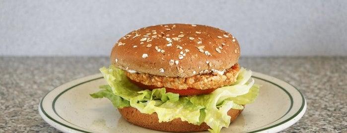 Astro Burger is one of 11 Best Veggie Burgers in Los Angeles.