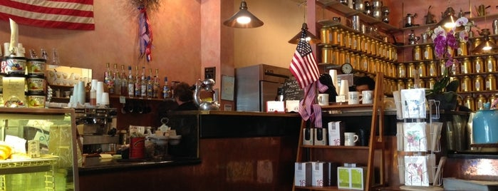 The Conservatory for Coffee, Tea & Cocoa is one of LA Coffee.