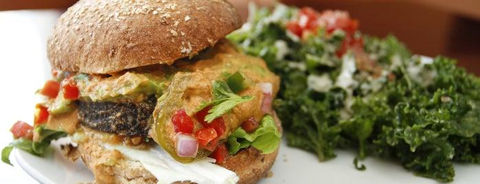 SunCafe Organic is one of 11 Best Veggie Burgers in Los Angeles.