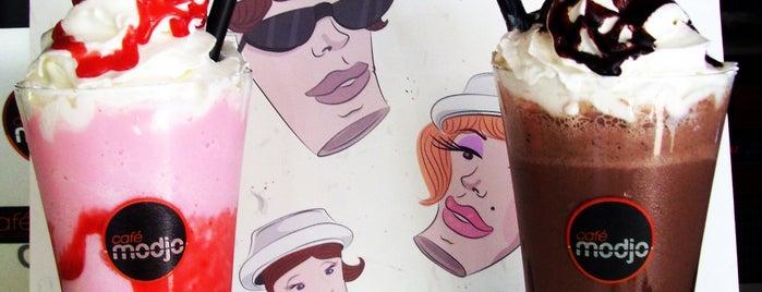 Cafe Modjo is one of Orte, die Yiyom gefallen.
