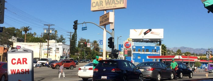 Sunset Car Wash is one of California.