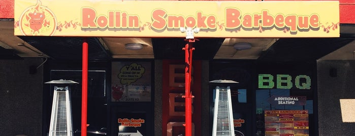 Rollin Smoke Barbeque is one of vegas.