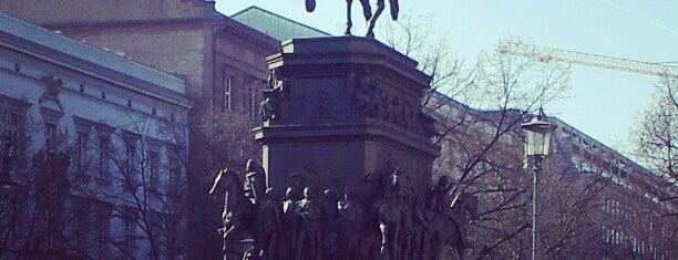 Reiterstandbild Friedrich der Große is one of Gespeicherte Orte von Gonçalo.