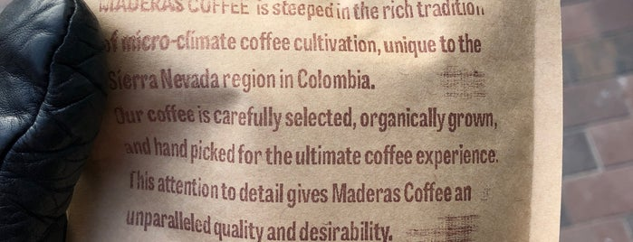 Maderas Cafe is one of Ethan's Liked Places.