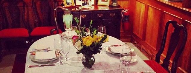 Taberna Del Alabardero is one of DC Restaurant Week.