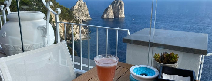 Capri Rooftop Lounge Bar is one of Best of Capri.