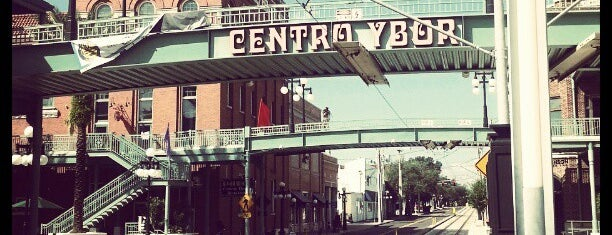 Ybor City is one of Tampa.