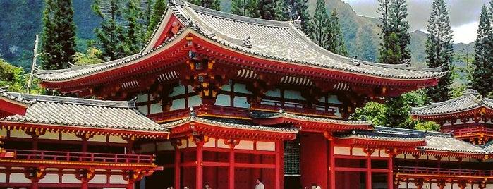 Byodo-In Temple is one of Locais curtidos por Alfa.