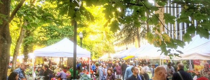 Portland Farmer's Market at PSU is one of Portland's Best.