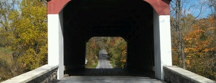 Van Sandt Covered Bridge is one of Favorites.