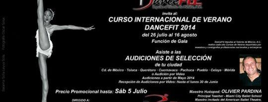 DanceFit Impulso al Talento de Mexico A. C. is one of Tempat yang Disimpan Fatima.