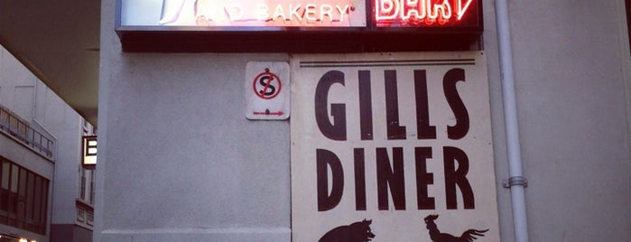 Gill's Diner is one of Melbourne 3000.